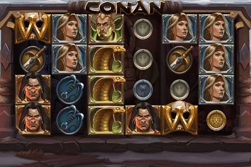 Featured Slot: Conan - Play Free + Review
