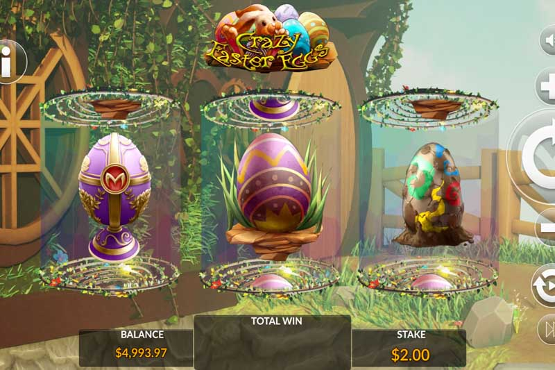 New Slot Release By Maverick Slots: Crazy Easter Eggs