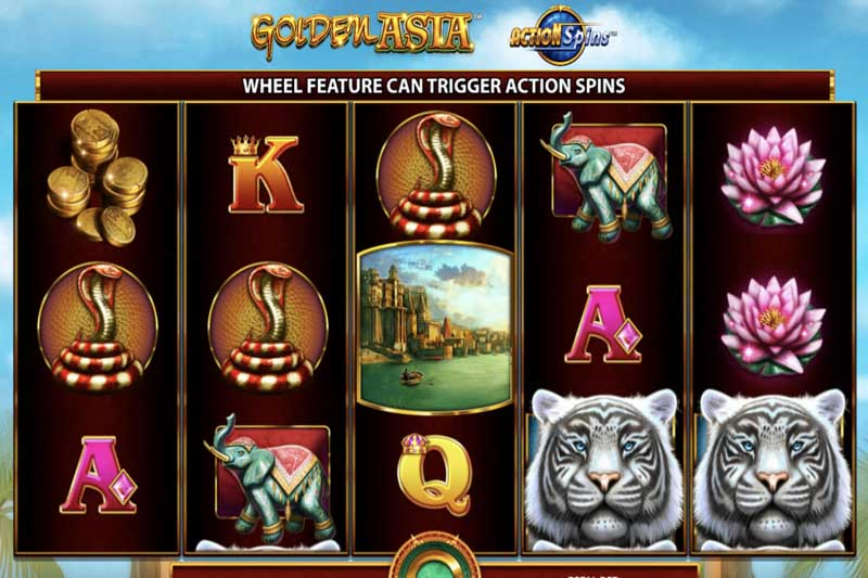 Golden Asia Slot