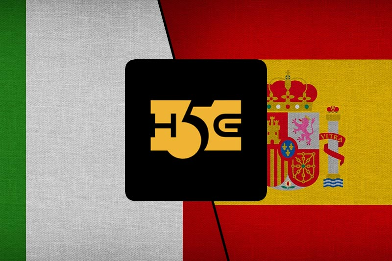 New York Casino Game Provider High 5 Games Extends Presence In Europe With Certification In Italy And Spain