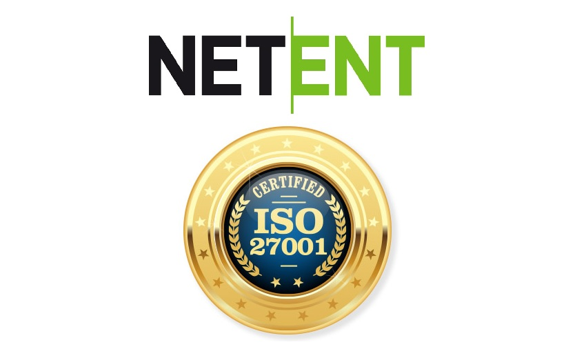 NetEnt Has Been Awarded The Global Standard ISO 27001 Certification