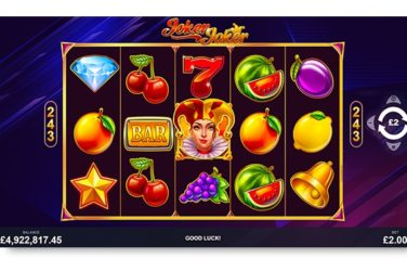 Joker Joker Slot By Pariplay - Review