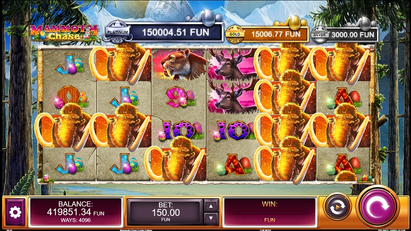 Make The Most Of Easter - Activate Kalamba Games Mammoth Chase Slot: Easter Edition