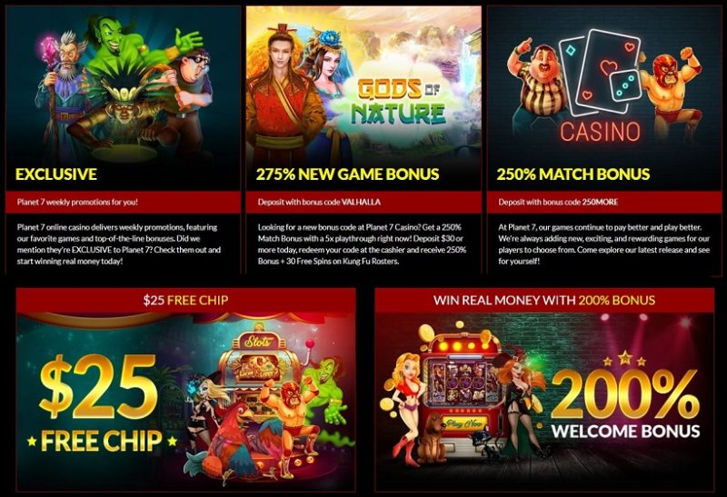 Planet 7 Casino Bonuses And Promotions