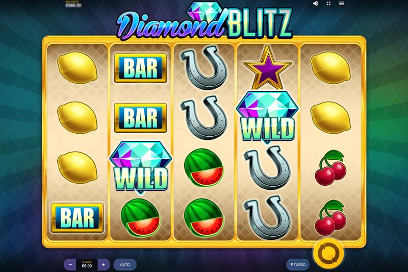New Slot Release By Red Tiger: Diamond Blitz - Review