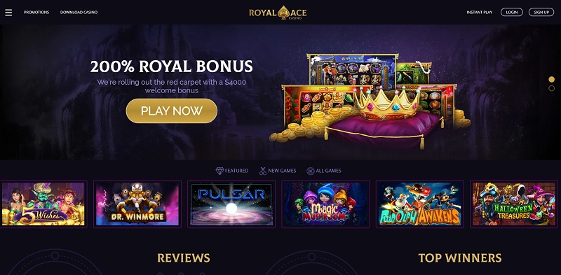 Royal Ace Casino General Overview
