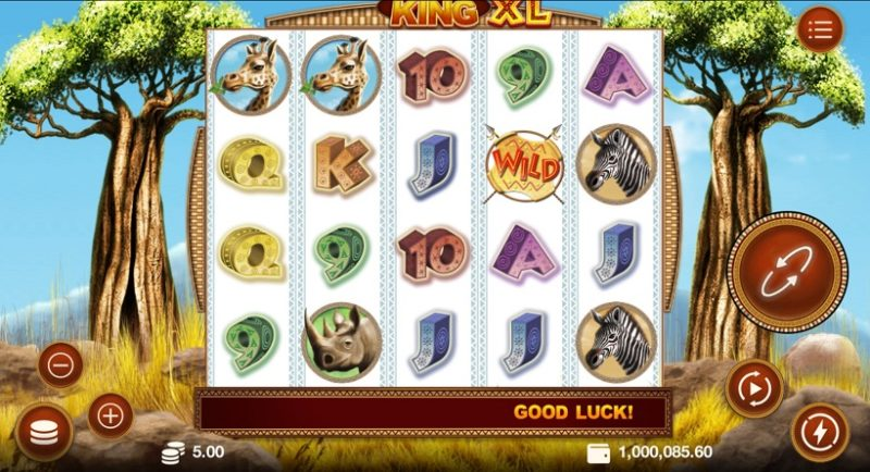 Savanna King XL Slot Review For High Rollers
