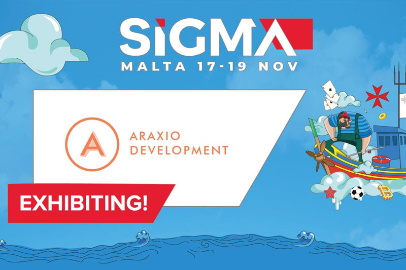Online Casino Operator Araxio Development Is Latest Exhibitor To Join SiGMA Malta