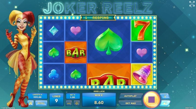 New Slot Release By Tom Horn: Joker Reelz