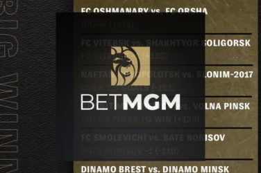 BetMGM Customer Wins Thousands On Belarus Premier League Bet