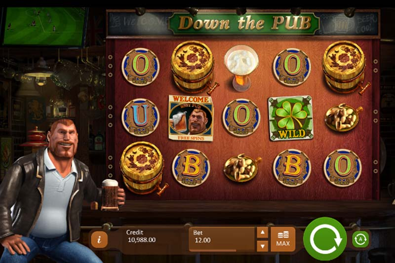 Down The Pub - Casino Buzz Slot Spotlight