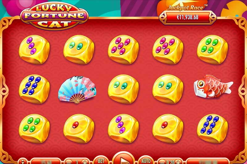 Lucky Fortune Cat - New Slot From Habanero