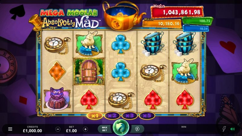 Microgaming Introduces Absolootly Mad™: Mega Moolah