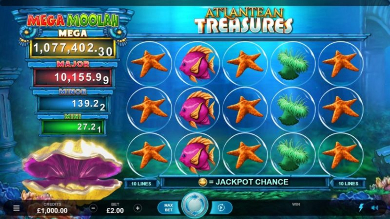 Microgaming's Mega Moolah Strikes Again: This Time Under Water!