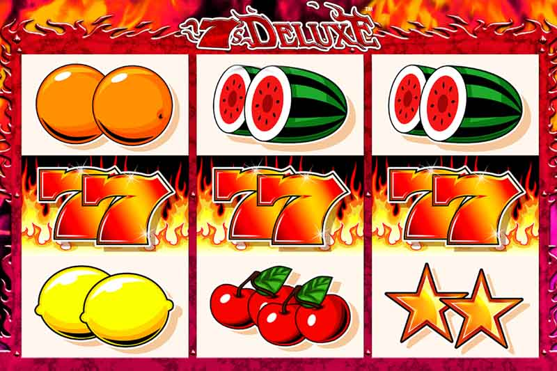 New Slot Release From Blueprint Gaming - 7's Deluxe