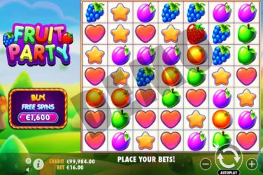 Fruit Party Slot - New 7 Reel Slot From Pragmatic Play