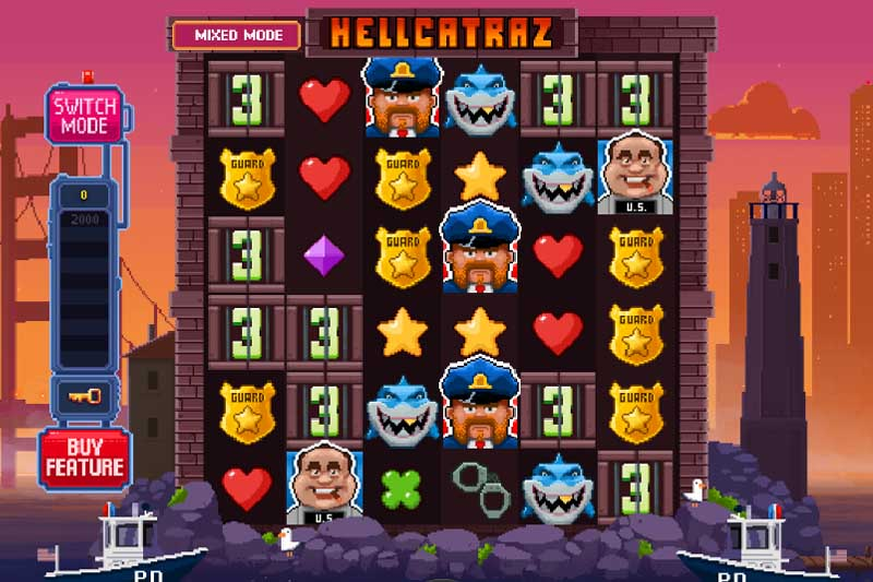 Hellcatraz - Newest 6 Reel Slot Game From Relax Gaming
