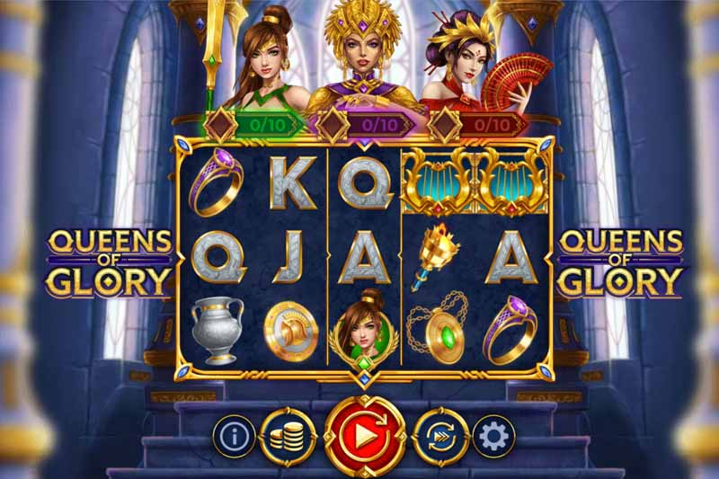 New Slot Release From OneTouch - Queens Of Glory