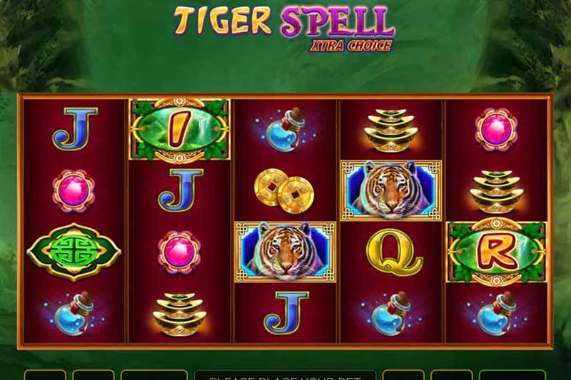 Tiger Spell Xtra Choice - New Greentube Slot Game