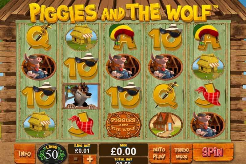 3. Piggies And The Wolf - Playtech