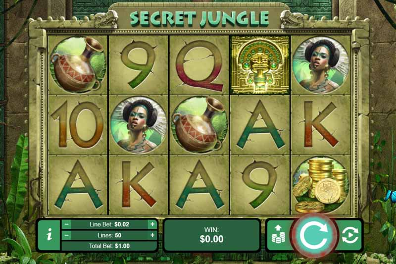 Secret Jungle Slot Free Spins Bonus
