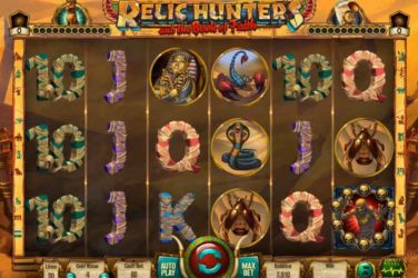 Relic Hunters And The Book Of Faith - Casino Buzz Slot Of The Week 16th May 2020