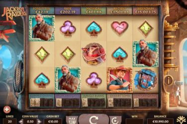 Jackpot Raiders - Casino Buzz Slot Of The Week 28th May 2020