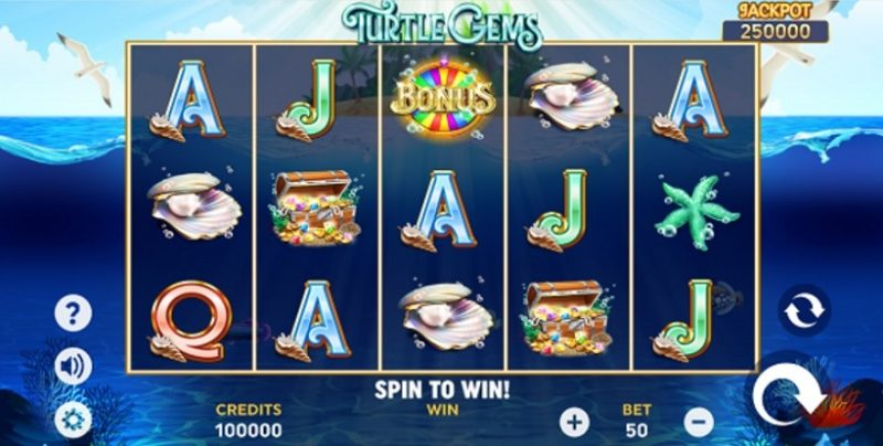 Turtle Gems Slot By Playlogics - Review