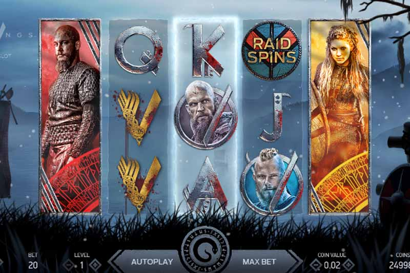 Vikings Slot NetEnt