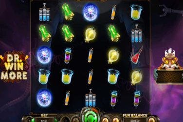 100 Free Spins on Dr. Winmore Slot With No Deposit Required