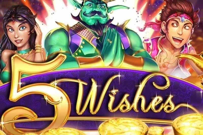 Claim 20 No Deposit Free Spins On RTG's 5 Wishes Pokie