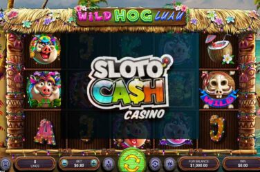 30 Free Spins On Wild Hog Luau Slot - No Deposit Bonus