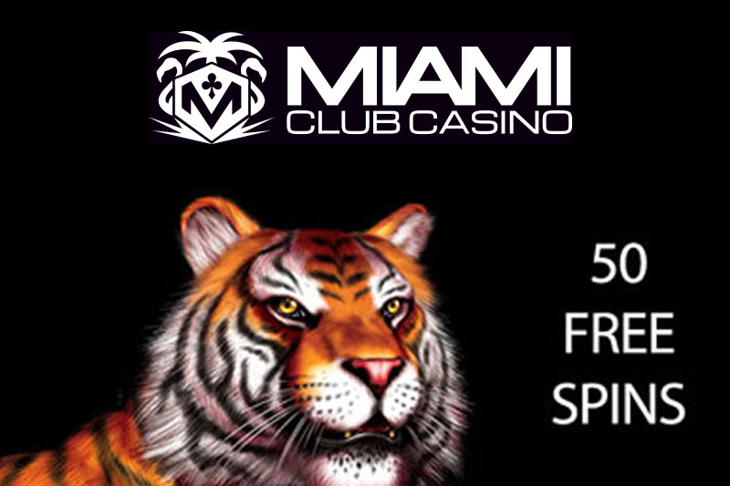Claim 50 Free Spins No Deposit on King Tiger Slot At Miami Club