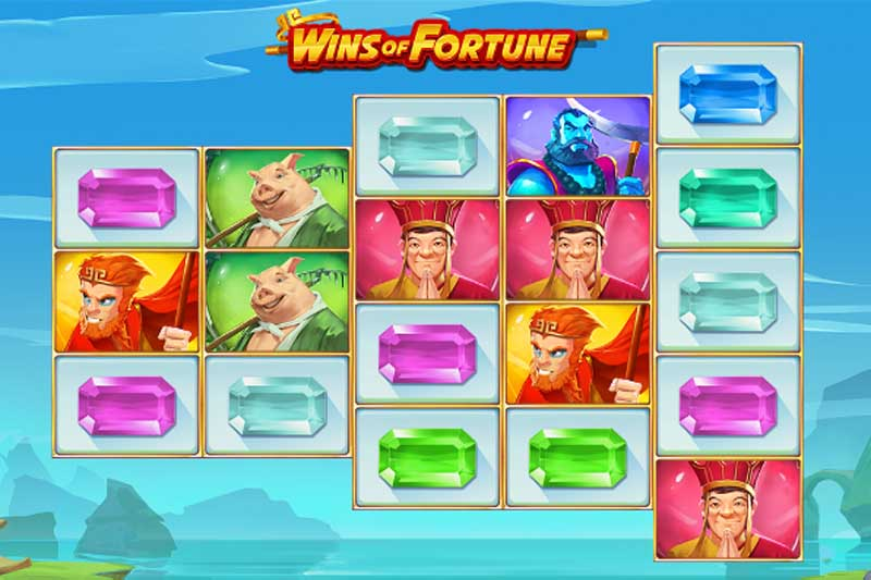 Wins of Fortune - Casino Buzz Slot Flashback