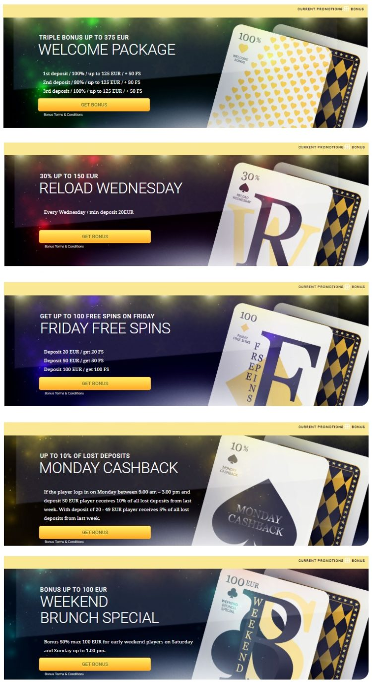 FortuneToWin Casino Bonuses And Promotions