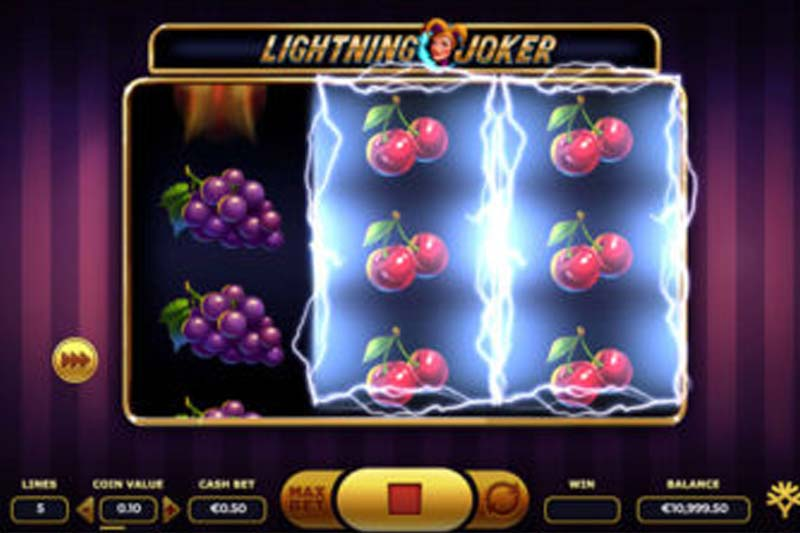 Lightning Joker Slot Yggdrasil