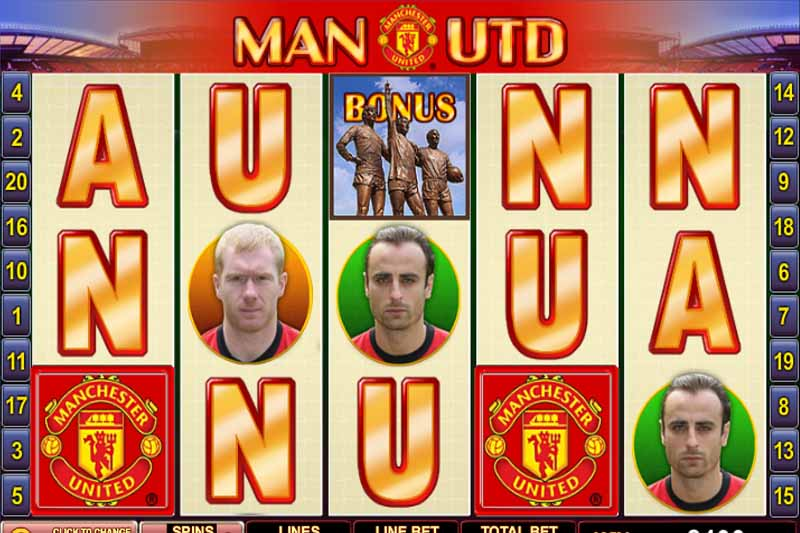 Manchester United Slot - Casino Buzz Slot Flashback