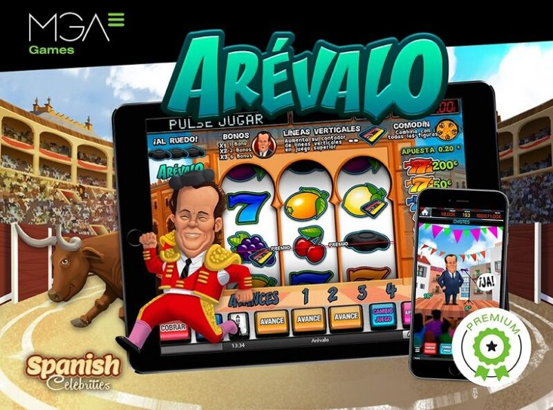 MGA Games Launch Areválo, Its Latest Spanish Celebrities Slot With A Comedic Spin