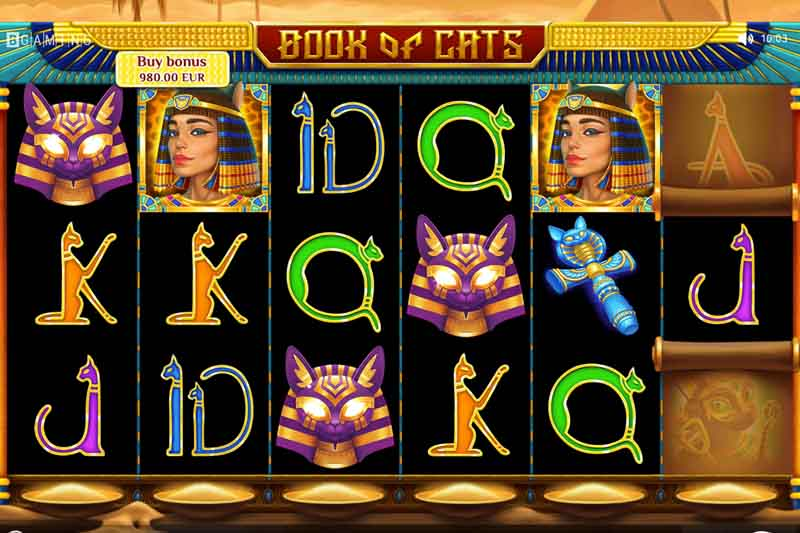 BGaming's Brand New Slot Book Of Cats Is Coming Soon