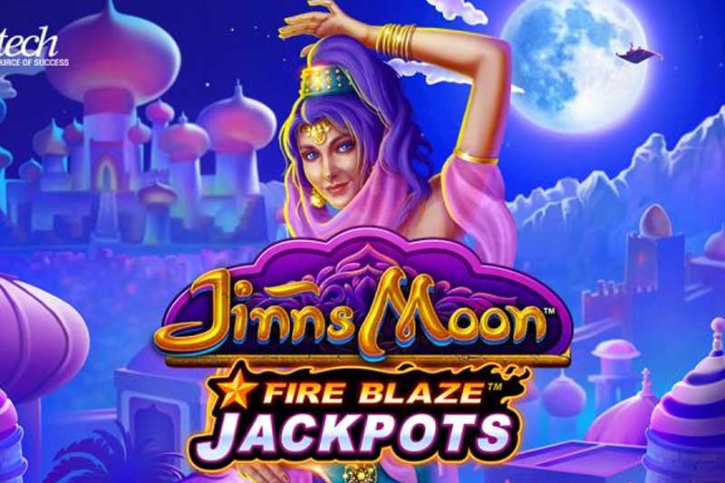 Jinns Moon - New Fire Blaze Slot Release From Playtech