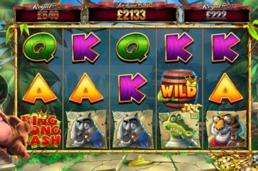 King Kong Cash Jackpot King - New Progressive Slot From Blueprint Gaming