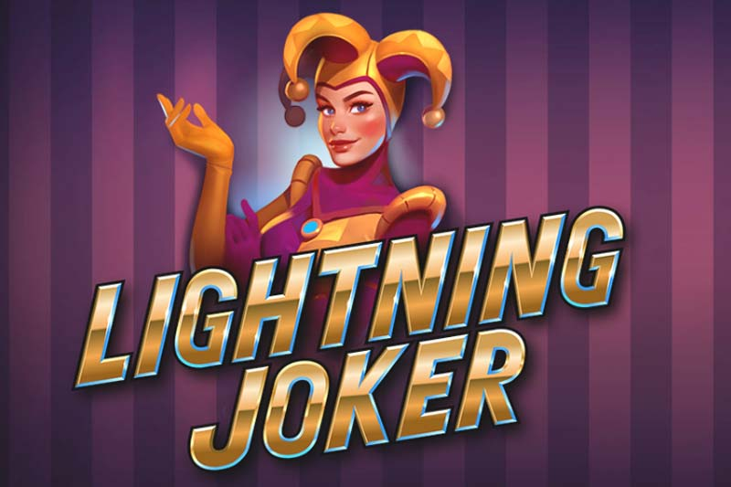 Lightning Joker - New Rapid Spin Slot From Yggdrasil