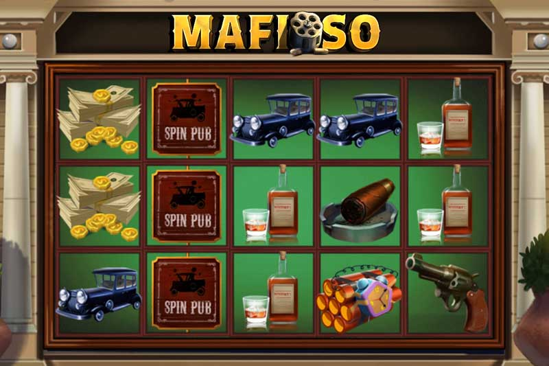 Mafioso - New Mafia Slot From Spinmatic