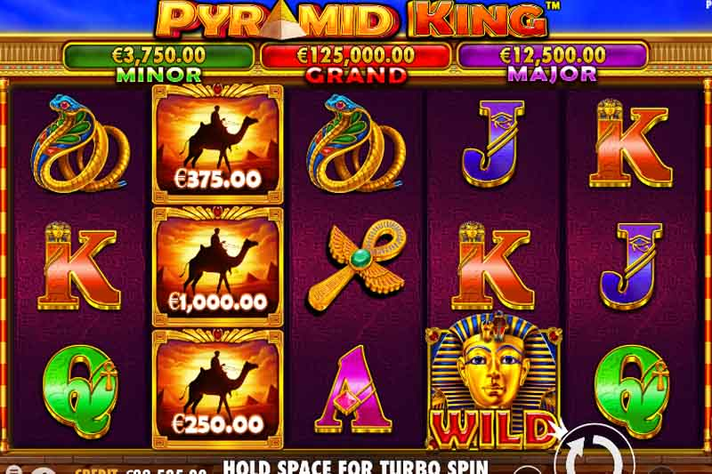 Pragmatic Play's Pyramid King Slot Has Landed