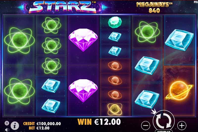 Starz Megaways - New Sticky Expanding Wilds Slot From Pragmatic Play + Bonus