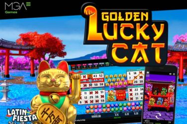 Golden Lucky Cat Video Bingo Launched Internationally By MGA Games