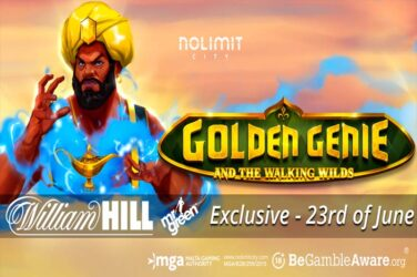 Nolimit City And William Hill Group Premier Golden Genie And The Walking Wilds