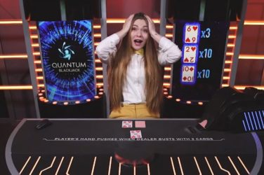 Playtech's Live Quantum Blackjack Pays Out Huge x300 Win