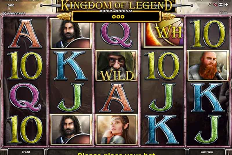 Kingdom of Legend - Casino Buzz Slot Of The Week 4th June 2020