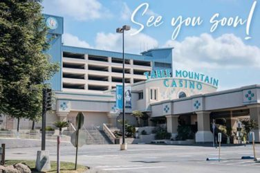 Table Mountain Casino California To Reopen 8th June 2020
